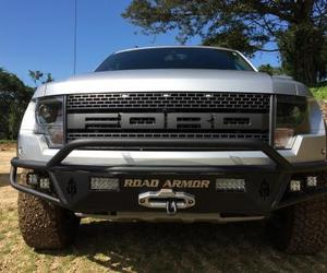 ford raptor bumper, ford front winch bumper, and ford bumper road armor image