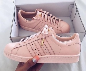adidas, shoes, and rose gold image