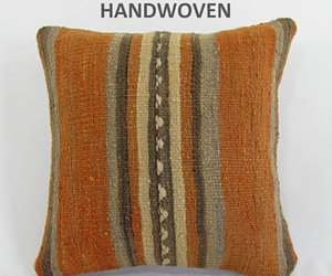 etsy, kilim pillow cover, and home decor image
