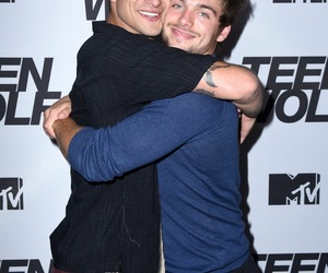 tyler posey, dylan sprayberry, and teen wolf image