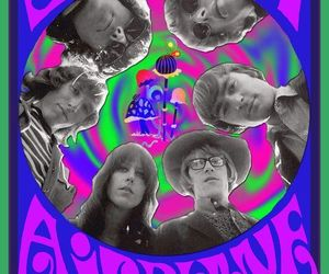 jefferson airplane, music, and poster image