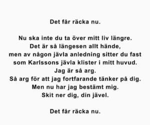 bitchy, svenska, and ex image