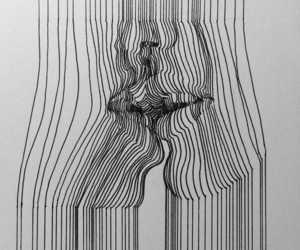 3d, art, and black and white image