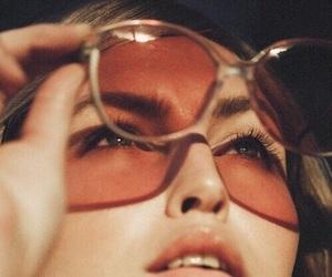 girl, sunglasses, and vintage image