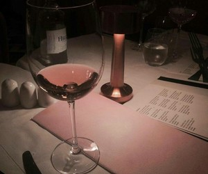 wine, drink, and pink image