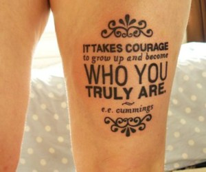 are, courage, and grow image
