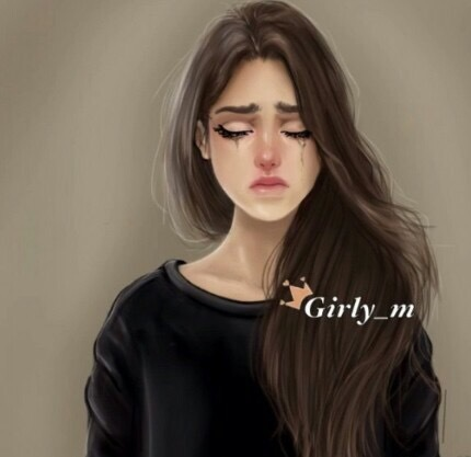 drawing, girly_m, and sad image