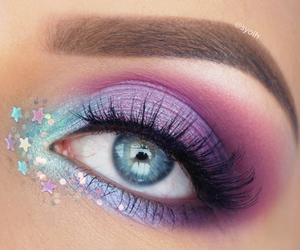 makeup, stars, and beauty image
