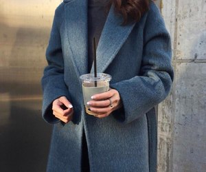 fashion, coat, and girl image