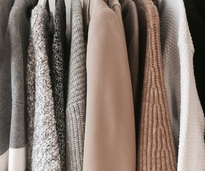 autumn, clothes, and clothes rack image