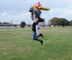 birthday, jump, and 21years image