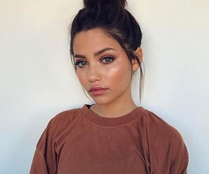 girl, makeup, and audreyana michelle image
