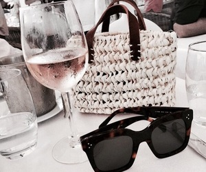 sunglasses, accessories, and drink image
