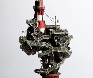 lighthouse and miniature image