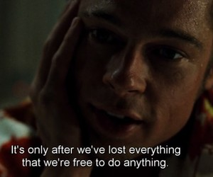 quotes, movie, and brad pitt image