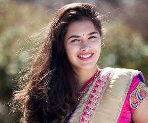 saree, tollywood, and telugu actress image
