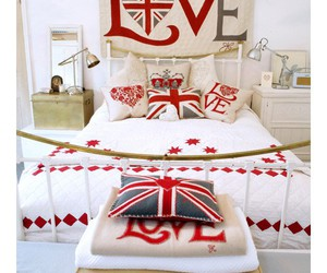 love, england, and bed image
