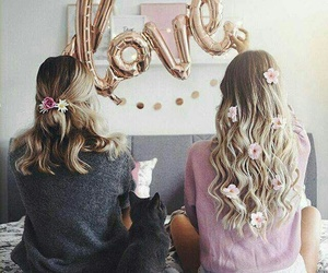 friendship, goals, and hair image