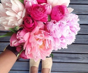 bouquet, floral, and tumblr image