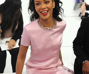 rihanna, pink, and smile image