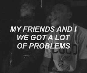 music lyrics, girls boys, and smoke black image