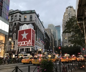 manhattan, new york, and macy's image
