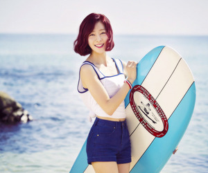 beach, kpop, and vocalist image