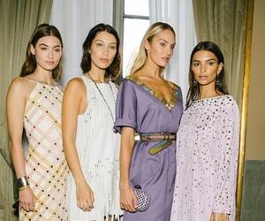 models, candice swanepoel, and bella hadid image
