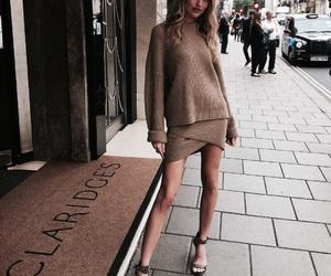 model, martha hunt, and fashion image
