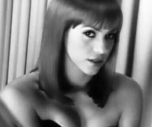 2007, wig, and b&w image