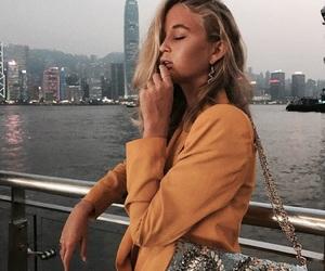 fashion, city, and yellow image