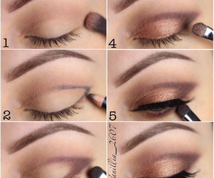 eyes, trucco, and make up image