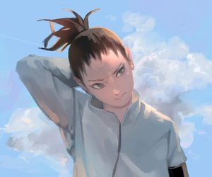 art, shikamaru, and naruto image