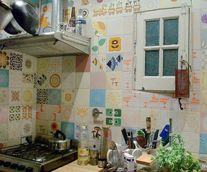 kitchen and room image