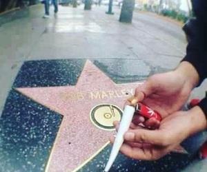 bob marley, weed, and smoke image
