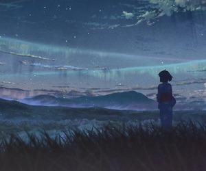anime, art, and your name. image