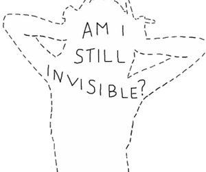quotes, invisible, and girl image