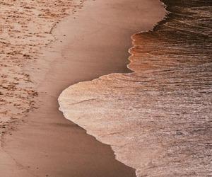 beach, sand, and nature image