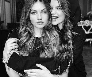 models, thylane blondeau, and sonia ben ammar image