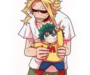 anime, all might, and boku no hero academia image