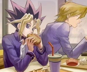 anime, Joey, and yugi image