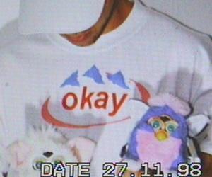 90s, purple, and rainbow image