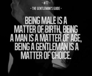quote and gentleman quote image
