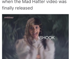 finally, mad hatter, and meme image