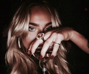 blonde, accessories, and hair image
