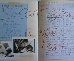 heart, quotes, and kurt cobain image