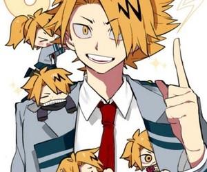 boku no hero academia and denki kaminari image