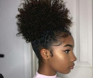 beauty, makeup, and natural hair image