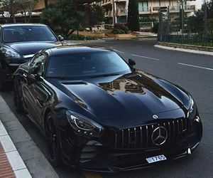 black, luxury, and mercedes image