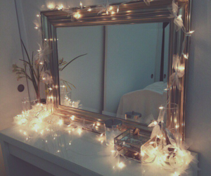 light, mirror, and home image
